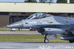 Belgium Air Force F-16A (Adrian Williams P H O T O G R A P H Y) Tags: baf belgium belgian air force f16a block 20 riat 2017 fairford fa134