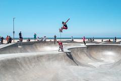 Venice Beach skatepark (AndreasKiis) Tags: mood moody nature venice sanfransisco bridge goldengate