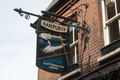 Watermans Arms (SReed99342) Tags: london uk england watermansarms pub sign richmond