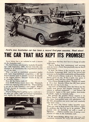 1961 XK Ford Falcon Sedan & Wagon Aussie Original Magazine Advertisement (Darren Marlow) Tags: 1 6 9 19 61 1961 x k xk f ford falcon s sedan w wagon c car cool collectible collectors classic a automobile v vehicle aussie australian australia 60s
