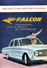1960 XK Ford Falcon Sedan Page 1 Aussie Original Magazine Advertisement (Darren Marlow) Tags: 1 6 9 19 60 1960 x k xk f ford falcon s sedan c car cool collectible collectors classic a automobile v vehicle aussie australian australia