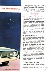 1960 XK Ford Falcon Sedan Page 2 Aussie Original Magazine Advertisement (Darren Marlow) Tags: 1 6 9 19 60 1960 x k xk f ford falcon s sedan c car cool collectible collectors classic a automobile v vehicle aussie australian australia