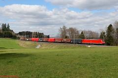 DB BR 185 093 (Bradley Morey) Tags: br db cargo bahn deutsche 185 bombardier traxx train photography schweiz switzerland photo suisse trainspotting gotthard mühlau