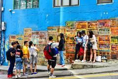 壁畫尋樂(DSC_4440) (nans0410(busy)) Tags: hongkong people street grahamstreet centralstation 香港 中環 嘉咸街 壁畫