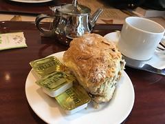 The biggest scone in the world ... (goforchris) Tags: isleoflewis retreats journeys june christianity midsummer outerhebrides westernisles dioceseofargyllandtheisles houseofbruar scones food