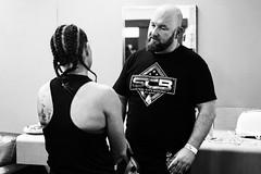 Detonation Boxing 14 - Backstage (Leighton Wallis) Tags: sony alpha a7r mirrorless ilce7r 1635mm f40 emount 55mm f18 newcastle nex nsw newsouthwales australia newcastleworkersclub boxing steelcitygym pammymcclelland jessleask