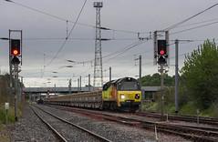Photo of 70 814 arriving at Carlisle Kingmoor Yard.