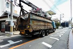 Bicycle Lorry (m-louis) Tags: 6713mm j5 nikon1 bicycle japan kaizuka osaka street truck 大阪 日本 自転車 貝塚