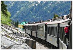 She'll be coming round the mountain when she comes (donbyatt) Tags: alaska canada yukon whitepassandyukonrailway narrowguage scenic mountains train