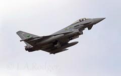 Typhoon ZJ935 (TF102A) Tags: aviation aircraft airplane prestwick prestwickairport raf typhoon 9squadron zj935