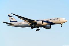 4X-ECE (Andras Regos) Tags: aviation aircraft plane fly airport lhr egll heathrow approach landing elal boeing 777 b772 777200er