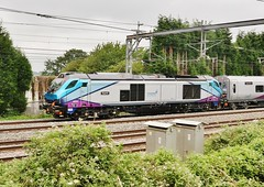 "Class 68 68025 ""Superb"" passes Amington (Derningtona) Tags: transpennineexpress class68 amington carlisle bletchley"