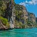 Scenery close to Monkey Island