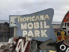 THE NEON MUSEUM LAS VEGAS NEVADA (82) (ussiwojima) Tags: neonmuseum tropicanamobilpark lasvegas nevada neon advertising sign