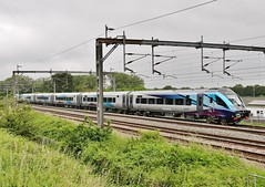 TransPennine Express Set TPE11 passes Amington (Derningtona) Tags: transpennineexpress settpe11 carlisle bletchley amington class68