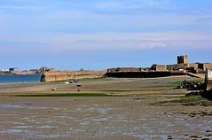 St Aubin's Fort, Jersey (Sybalan,) Tags: jersey channelislands may holiday sunny summer landscape sea shoreline canon httpsybalanphotographyweeblycom stouensbay stbrelade boulaybay staubin