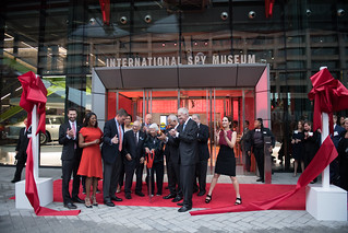 May 11, 2109 MMB Celebrated the Grand Opening and Cut the Ribbon of the New International Spy Museum