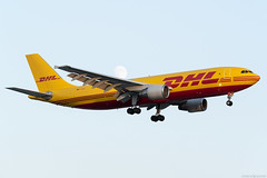D-AEAC (Andras Regos) Tags: aviation aircraft plane fly airport lhr egll heathrow approach landing dhl eat eatleipzig europeanairtransport airbus a300 a300f a300600 freighter cargo