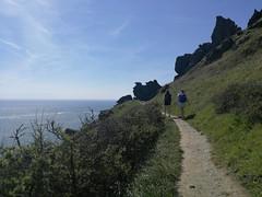 Salcombe hike (toffee_poppy) Tags: devon coast blue skies sunny mountain hike walk path ramble south free holiday salcombe