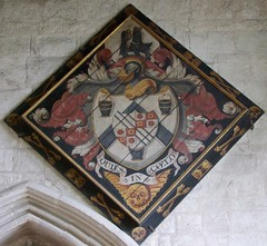 Photo of Trumpington, Cambridgeshire, St Mary and St Michael, hatchment