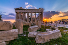 Acropolis at sunset (Vagelis Pikoulas) Tags: sun sunset acropolis view architecture archaelogical archaeology athens old ancient greece 2019 europe holidays city cityscape travel canon 6d tokina 1628mm