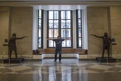Hamilton vs. Burr (klong35) Tags: museumoftheamericanrevolution americanrevolution hamilton burr duel alexanderhamilton aaronburr