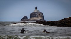 (lsmurphycc13) Tags: surfing surf surfers oregoncoast oregon tillamooklighthouse tillamookrocklight