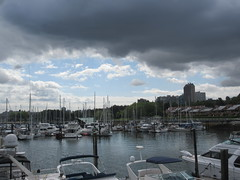 Moored (jamica1) Tags: vancouver bc british columbia canada false creek granville island boats dock