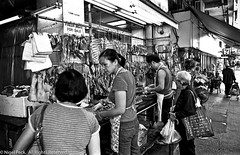 Meat in the Street (Pexpix) Tags: hpg4050 digitizedfilmnegative blackandwhite scanner iso400 攝影發燒友 nikonf3t kodak400tmax film id111323c 4002tmy bw monochrome titanium hongkong