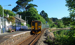 150233 & 150261 Lelant (4) (Marky7890) Tags: 150261 gwr 150233 class150 sprinter 2a06 lelant railway cornwall stivesbayline train