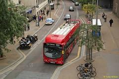 LJ13JWP Tower Transit WSH62996 (theroumynante) Tags: tower transit 62996 vdl sb200 wrightbus pulsar hydrogen bus south bank routerv1 rv1 buses singledeck dualdoor flatfloor lowfloor alternative fuel powered lj13jwp road transport wsh62996 for london tfl