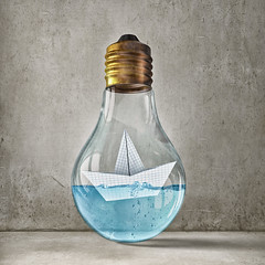 Bulb with boat inside (sophia.alachouzos) Tags: boat bulb light water bio paper bright concept eco electric electricity energy environmental glass icon idea innovation inspiration invention lamp lightbulb natural nautical ocean organic power recycle recycling sail sailboat sea ship sign symbol technology transport travel yacht russianfederation