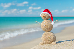 Sandy snowman in santa hat. Holiday concept for New Years and Ch (sophia.alachouzos) Tags: christmastide christmastime claus nativity beach blue cap carrot childhood christmas festal fun funny greeting happy hat heat holiday holidays humor new party red resort sand sandy santa sea season shiny sky smile smiley snowman summer sun sunlight sunny symbol tourism tourist traditional travel tropical vacation water wave winter xmas year ukraine
