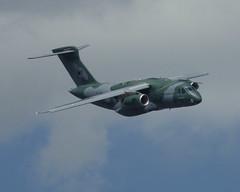 PT-ZNX, Embraer KC-390, c/n 39000004, Embraer / Empresa Brasileira de Aeronáutica, additional FAB / Força Aérea Brasileira titles, LBG/LFPB, 2019-06-17. (alaindurandpatrick) Tags: ptznx 39000004 kc390 embraer embraerkc390 empresabrasileiradeaeronáutica developmentaircrafts cargoaircrafts militarycargoaircrafts aircraftmanufacturers planemakers fab forçaaéreabrasileira airforces airshows demonstrators airdisplays lbg lfpb parislebourget airports aviationphotography parisairshow salondubourget
