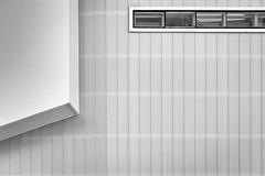 window (fhenkemeyer) Tags: window facade architecture abstract bw rotterdam netherlands lines minimalistic