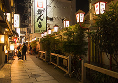 Nighttime Streets (shiruichua) Tags: japan osaka kansai prefecture nighttime photography outside lights canont5i lens 700d 18135mm