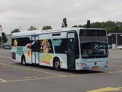 NLD Qbuzz 3213 ● Groningen Peizerweg (Roderik-D) Tags: qbuzz31003301 3213 mercedesbenz o530ü citaro2 savas zomerbroezzn bxgd07 groningengaragepeizerweg 2009 dieselbus euro5 bege überlandbus streekbus 2axle 2doors ivu gorba 15 linienbus lijnbus automatictransmission