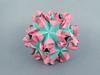Маша, с Днём рождения! (masha_losk) Tags: kusudama кусудама origamiwork origamiart foliage origami paper paperfolding modularorigami unitorigami модульноеоригами оригами бумага folded symmetry design handmade art