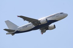 9H-AEJ (IndiaEcho) Tags: italy rome roma airport aircraft aviation jet aeroplane civil da vinci aeropuerto airliner airfield fco leaonardo lirf fimucino air malta airbus a319 9haej
