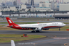 A330 B-6097 SHANGHAI AIRLINES (shanairpic) Tags: jetairliner passengerjet a330 airbusa330 tokyo haneda shanghaiairlines b6097