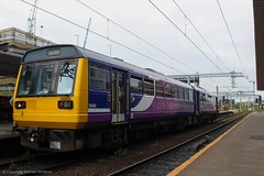 Northern 142004 (Mike McNiven) Tags: arriva railnorth northern dmu diesel multipleunit pacer wigan wallgate atherton manchester manchestervictoria salford salfordcentral