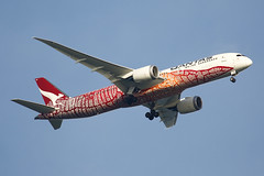 Qantas Airways | Boeing | 787-9 | VH-ZND (TFG Lau) Tags: vhhh hkia hkg hongkong hongkonginternationalairport siulam airplane aeroplane aircraft aviation plane planespotting spotting canon canoneos canon5dmarkiii eos eos5dmarkiii ahkgap qantas qantasairways qfa qf boeing boeing787 b787 b789 787 7879 vhznd oneworld oneworldalliance
