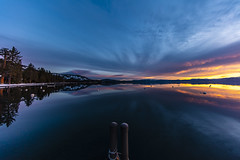 Breaking Dawn (CraDorPhoto) Tags: canon5dsr landscape water lake reflection clouds sky colourful blue nature outside outdoors california usa laketahoe