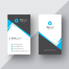 vertical business card (primedesignx) Tags: business card design vector template corporate professional elegant modern creative visiting brand identity id layout contact graphic abstract office print horizontal vertical set company subtle minimal