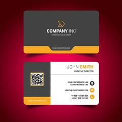 business card (primedesignx) Tags: business card design vector template corporate professional elegant modern creative visiting brand identity id layout contact graphic abstract office print horizontal vertical set company subtle minimal