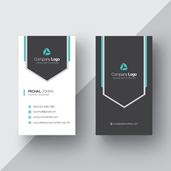 elegant business card (primedesignx) Tags: business card design vector template corporate professional elegant modern creative visiting brand identity id layout contact graphic abstract office print horizontal vertical set company subtle minimal