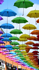 Durham Umbrellas (chris_m03) Tags: colours umbrellas street art durham
