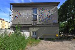 bony fish (rafasmm) Tags: łódź lodz poland polska europe street streets streetart streetphotography art mural outdoor walk city citynature bony fish urban building color nikon d90 sigma 1020 ex