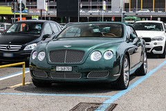Switzerland (Ticino) - Bentley Continental GTC (PrincepsLS) Tags: switzerland swiss license plate ti ticino italy segrate spotting bentley continental gtc