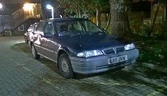 1994 Rover 200 (214) (Jeffysevone) Tags: rover 200 214 blue grey l reg 1994